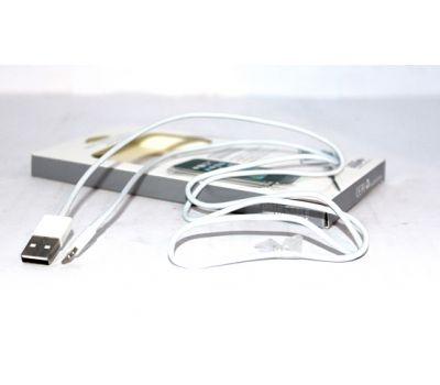 Data-cable USB iPhone 5 1m White hi-speed (paper box)