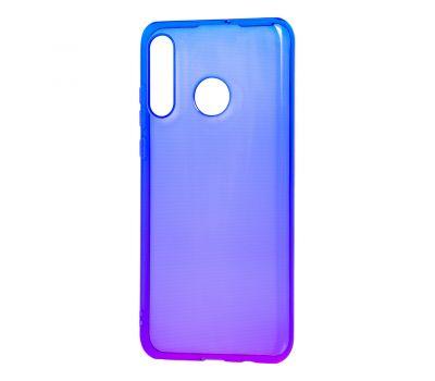 Чехол для Huawei P30 Lite Gradient Design фиолетово-синий