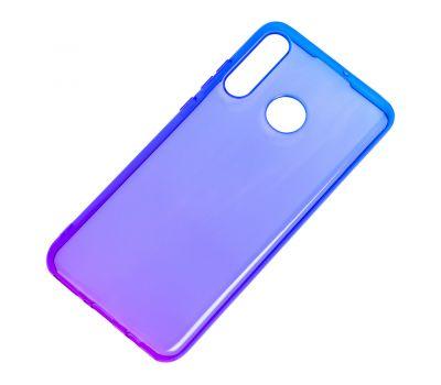 Чехол для Huawei P30 Lite Gradient Design фиолетово-синий 610750