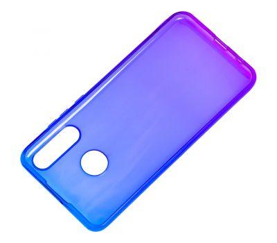 Чехол для Huawei P30 Lite Gradient Design фиолетово-синий 610751
