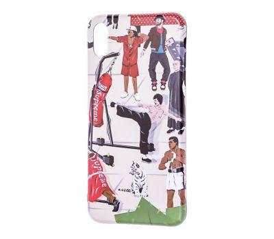Чехол IMD для iPhone X / Xs Yang style спорт 659930