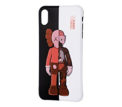 """Чехол для iPhone X / Xs  IMD """"Yang style """" половинки 659957"""