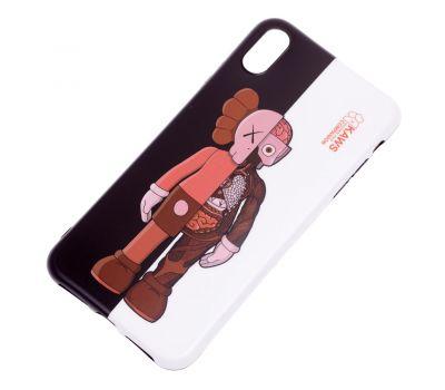 """Чехол для iPhone X / Xs  IMD """"Yang style """" половинки 659958"""