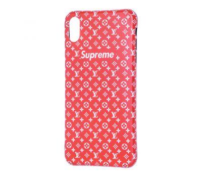 Чехол IMD для iPhone X / Xs Yang style красный supreme 659912