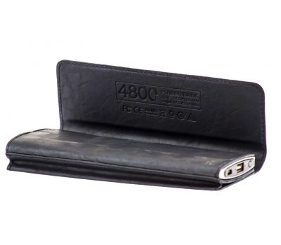 Внешний аккумулятор power bank Hoco Wallet Portable 4800 mAh black 73972