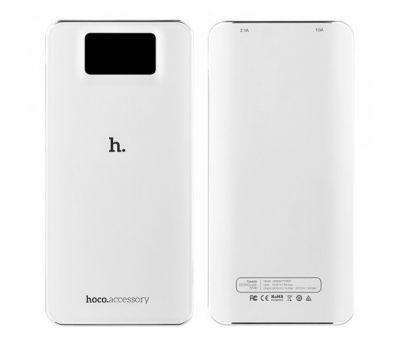 Внешний аккумулятор power bank Hoco UPB-05 10000 mAh white 73962