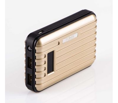Фото №2 - Внешний аккумулятор Power Bank Fonsi F31-10000 mAh gold 74162