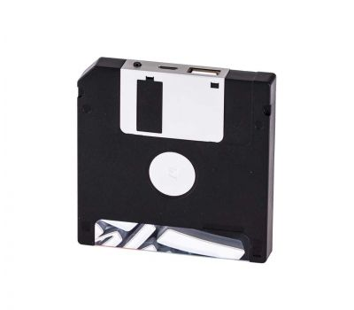 Внешний аккумулятор power bank Remax Disc RPP-17 5000mAh black 75052