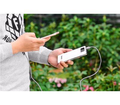 Внешний аккумулятор power bank Hoco UPB-05 10000 mAh white 76847