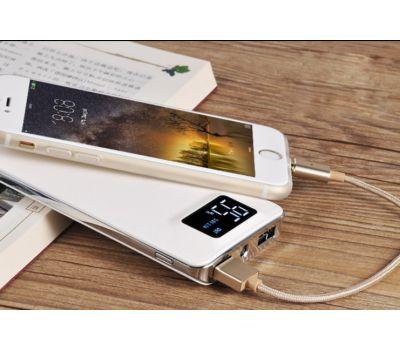 Внешний аккумулятор power bank Hoco UPB-05 10000 mAh white 76852