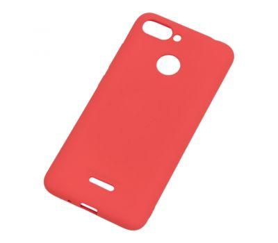 Чехол Molan Cano для Xiaomi Redmi 6 матовый красный 765845
