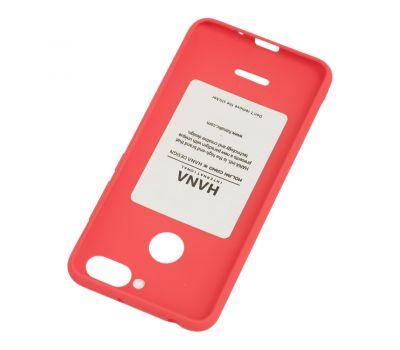 Чехол Molan Cano для Xiaomi Redmi 6 матовый красный 765846