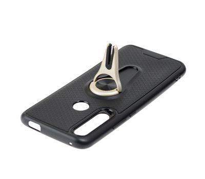Чехол для Huawei P Smart Z Car mount с магнитом черно-золотистый 858345