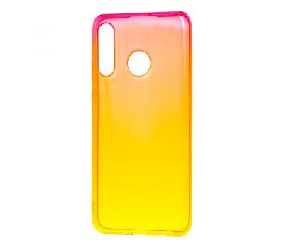 Чехол для Huawei P30 Lite Gradient Design красно-желтый