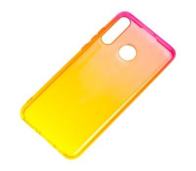 Чехол для Huawei P30 Lite Gradient Design красно-желтый 896635