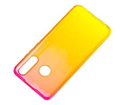 Чехол для Huawei P30 Lite Gradient Design красно-желтый 896636