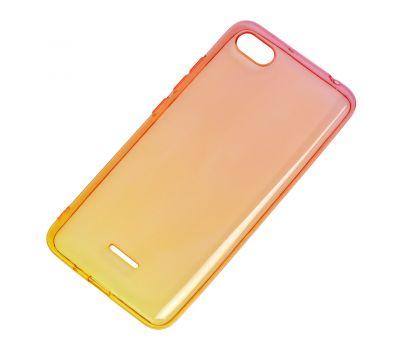 Чехол для Xiaomi Redmi 6A Gradient Design красно-желтый 913010