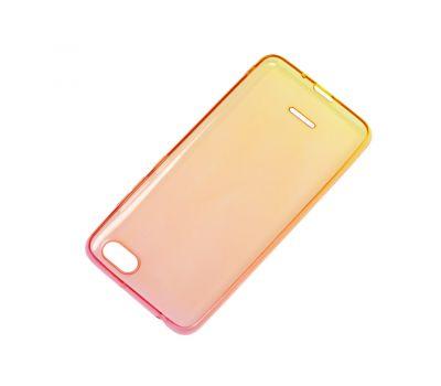 Чехол для Xiaomi Redmi 6A Gradient Design красно-желтый 913011