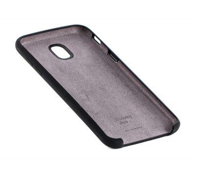 Чехол для Samsung Galaxy J5 2017 (J530) Silky Soft Touch черный 92669