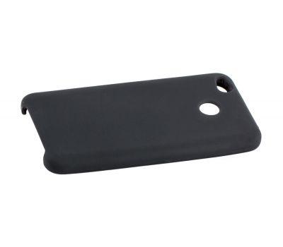 Чехол для Xiaomi Redmi 4x Silky Soft Touch черный 92640