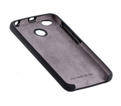 Чехол для Xiaomi Redmi 4x Silky Soft Touch черный 92641