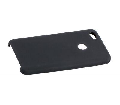 Чехол для Xiaomi Redmi Note 5a Silky Soft Touch черный 92643
