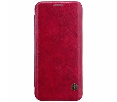 Чехол книжка для Samsung Galaxy S9 Nillkin Qin series красный 926784