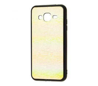 Чехол для Samsung Galaxy J3 2016 (J320) Gradient белый