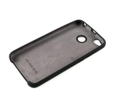 Чехол для Xiaomi Redmi 4x Silky Soft Touch черный 96183