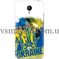 Силиконовый чехол Remax Meizu M2 Note Ukraine national team