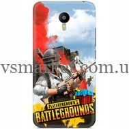 Силиконовый чехол Remax Meizu M2 Note PLAYERUNKNOWN'S BATTLEGROUNDS