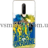 Силиконовый чехол Remax OnePlus 7 Pro Ukraine national team