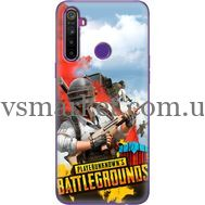 Силиконовый чехол Remax Realme 5 PLAYERUNKNOWN'S BATTLEGROUNDS
