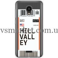 Силиконовый чехол BoxFace Meizu C9 Ticket Hill Valley (35757-cc94)