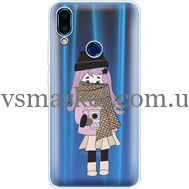 Силиконовый чехол BoxFace Meizu Note 9 Winter Morning Girl (36864-cc61)