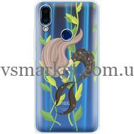 Силиконовый чехол BoxFace Meizu Note 9 Cute Mermaid (36864-cc62)