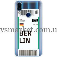 Силиконовый чехол BoxFace Meizu Note 9 Ticket Berrlin (36864-cc80)
