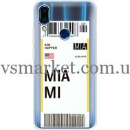 Силиконовый чехол BoxFace Meizu Note 9 Ticket Miami (36864-cc81)