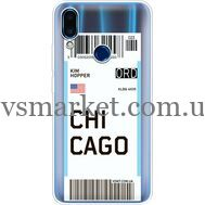 Силиконовый чехол BoxFace Meizu Note 9 Ticket Chicago (36864-cc82)