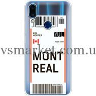 Силиконовый чехол BoxFace Meizu Note 9 Ticket Monreal (36864-cc87)