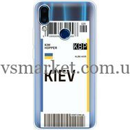 Силиконовый чехол BoxFace Meizu Note 9 Ticket Kiev (36864-cc88)