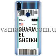 Силиконовый чехол BoxFace Meizu Note 9 Ticket Sharmel Sheikh (36864-cc90)