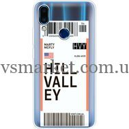 Силиконовый чехол BoxFace Meizu Note 9 Ticket Hill Valley (36864-cc94)