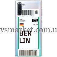 Силиконовый чехол BoxFace Samsung N970 Galaxy Note 10 Ticket Berrlin (37408-cc80)