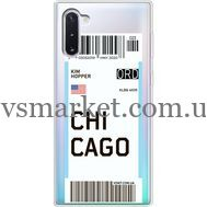 Силиконовый чехол BoxFace Samsung N970 Galaxy Note 10 Ticket Chicago (37408-cc82)