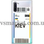 Силиконовый чехол BoxFace Samsung N970 Galaxy Note 10 Ticket Kiev (37408-cc88)