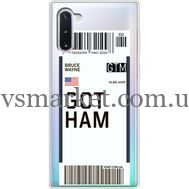 Силиконовый чехол BoxFace Samsung N970 Galaxy Note 10 Ticket Gotham (37408-cc92)