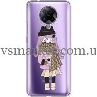 Силиконовый чехол BoxFace Xiaomi Poco F2 Pro Winter Morning Girl (40089-cc61)