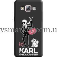 Силиконовый чехол BoxFace Samsung A500 Galaxy A5 For Karl (38654-bk38)