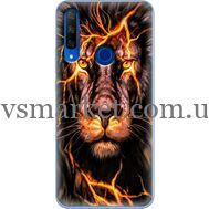 Силиконовый чехол BoxFace Huawei Honor 9X Fire Lion (37996-up2437)